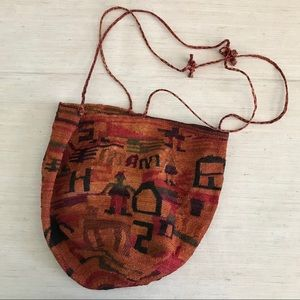 Handbags - Woven Straw Tribal Bucket bag